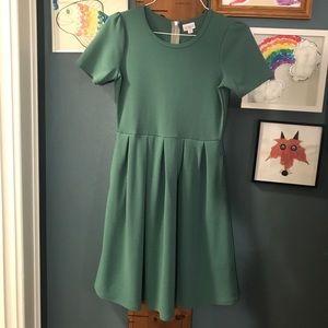 Lularoe Amelia mint green